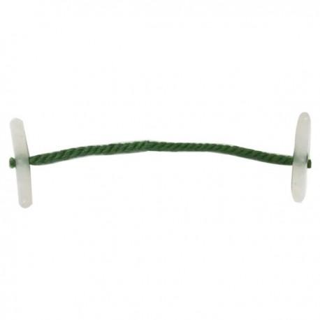 Officemart 綠色快勞繩 5吋 127毫米 100條