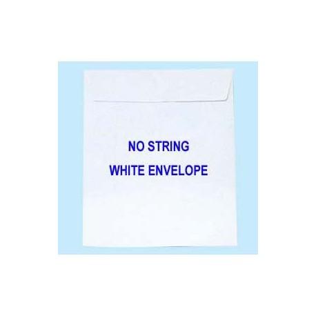 膠口公文袋 9吋x12吋 白色