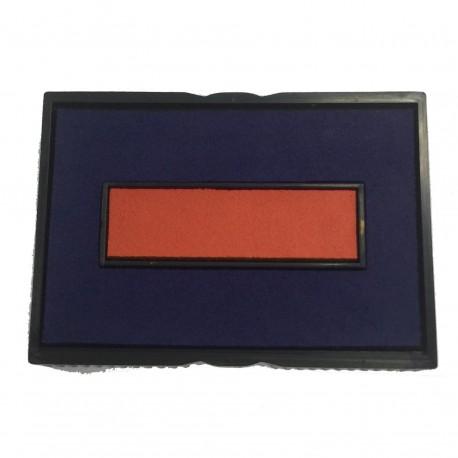 Trodat 4750/2 多用途日期印 補充墨台墊 雙色 紅及藍
