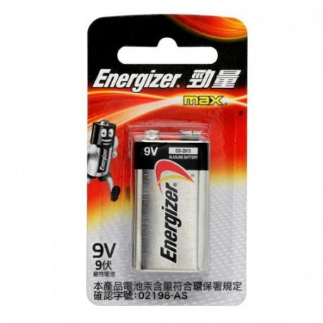 Energizer 勁量 鹼性電池 9V