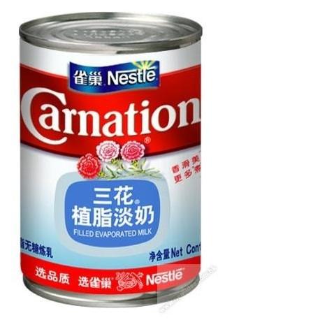 三花 植脂淡奶 405克