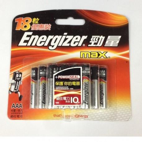 Energizer 勁量 鹼性電池 3A 18粒