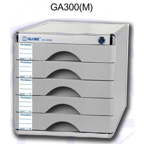 地球牌 GA300M 桌上型文件櫃連鎖 五層 A4