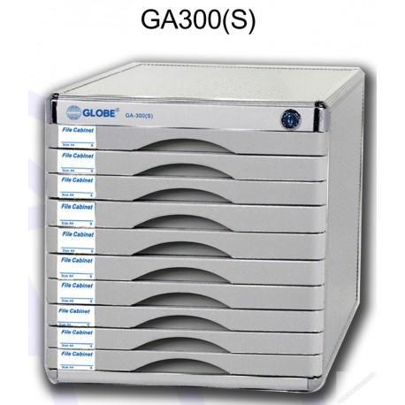 地球牌 GA300S 桌上型文件櫃連鎖 十層 A4