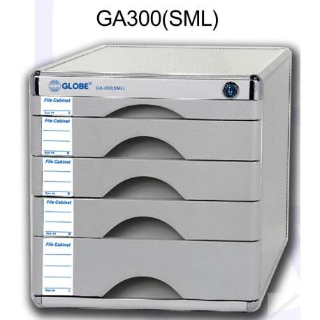 地球牌 GA300SML 桌上型文件櫃連鎖 五層 A4
