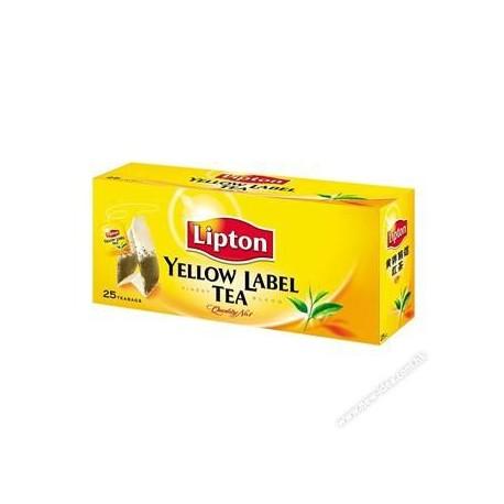 立頓 黃牌茶包 25片