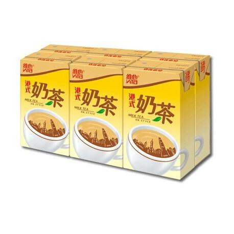 維他 港式奶茶 250毫升 6包