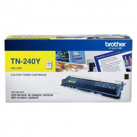 Brother TN-240Y Toner Cartridge Yellow