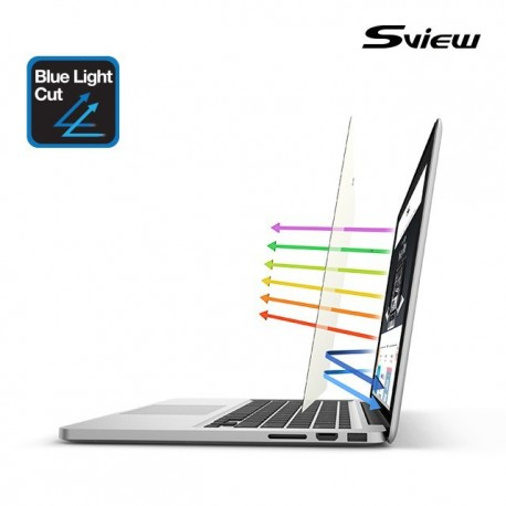 Sview SBFAG-MPR15.4 適合Macbook Pro Retina 防藍光螢幕保護鏡 15.4吋