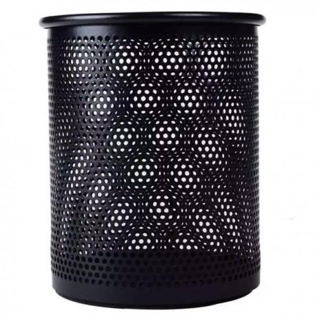 晨光 ABT-98403 圓形金屬網紋筆筒