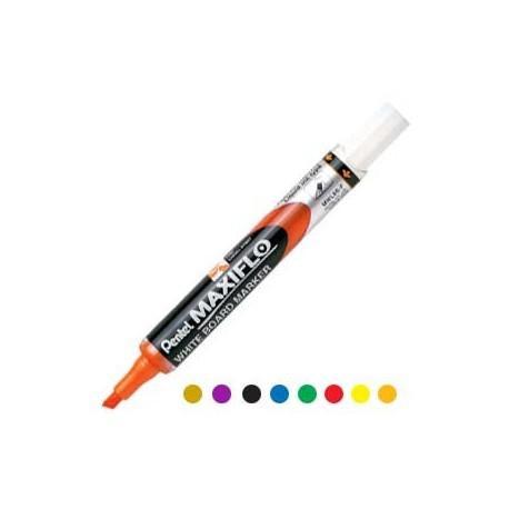 蟠桃兒 MWL6S Maxiflo 後壓式白板筆 方咀 黑色/藍色/啡色/綠色/橙色/紫色/紅色/黃色