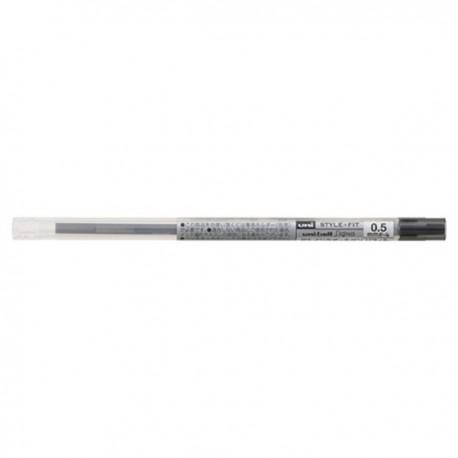 三菱 UMR-109-05 替芯 0.5亳米 10支 黑色/藍色